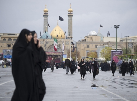 Muslims in Tehran. Photograph: SIPA/Rex Shutterstock