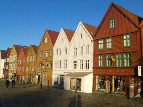 Bergen u kojem je Knausgor pohađao Akademiju kreativnog pisanja