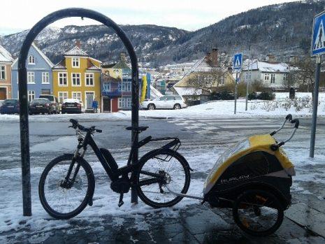 Bergen u kojem je Knausgor živeo pre odlaska u Švedsku