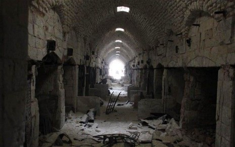 Souq al-Madina nakon razaranja