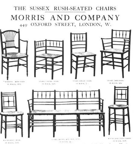 Stranica iz Morris & Co kataloga, 1910.