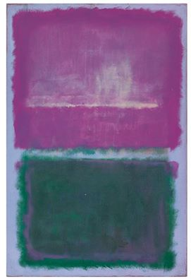 Mark Rothko - (1903 - 1970) Untitled (Lavender and Green), 1952