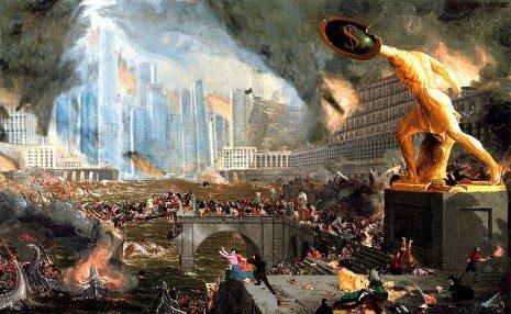Колапс модерне цивилизације, аутора Џеј Симонс