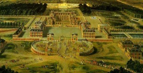 Versailles_door_Pierre_Patel_rond_1650