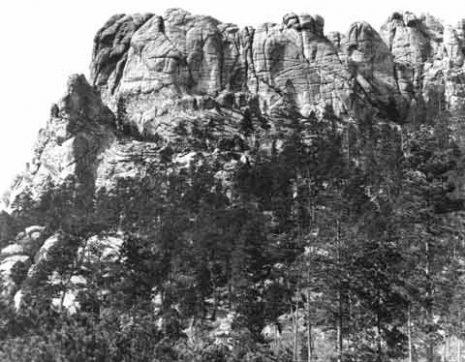 Изглед планине пре изградње - 1905 г.