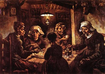 Seljaci jedu krompir