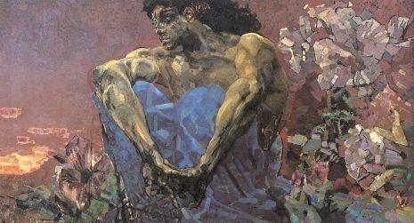 Михаил Врубељ - Демон који седи