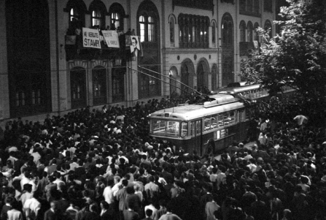 Protest ispred zgrade Rektorata