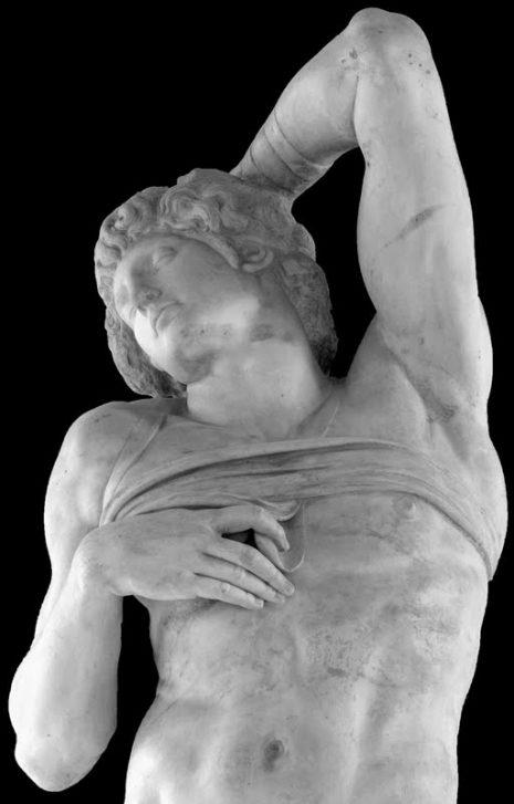 MichelangeloSlaveDyingC1514 3E BW web