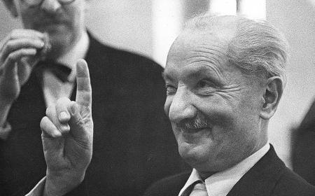 Martin Heidegger: Europa i njemačka filozofija