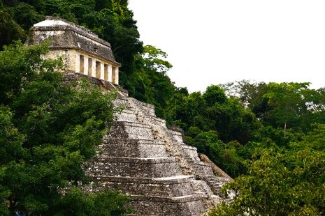 Stepenasta piramida iz Palenquea