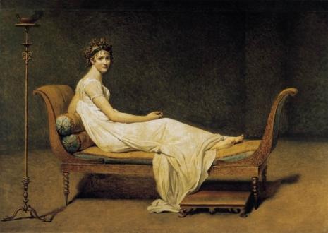 Jacques-Louis David - Madame Récamier