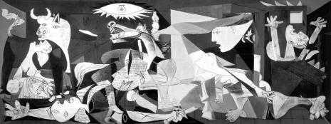 Pablo Picasso - Guernica (predstavljanje užasa)