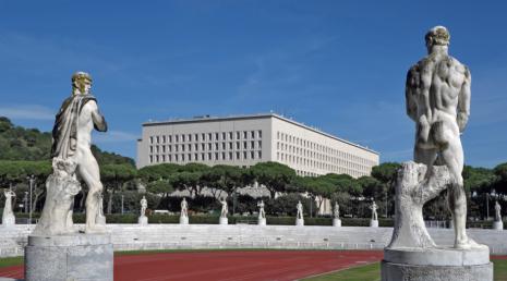 """ФОТОГРАФИЈЕ: КОМПЛЕКС """"FORO ITALICO"""", РИМ"""