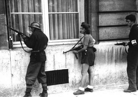 1944.- pripadnici Francuskog pokreta otpora u borbi