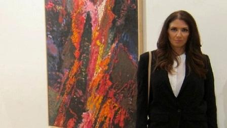Aleksandra Popović: Moje slike su govor u prvom licu