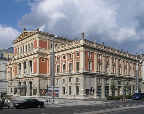 Bečki novogodišnji koncerti Zgrada-Musikverein-a-u-Becu