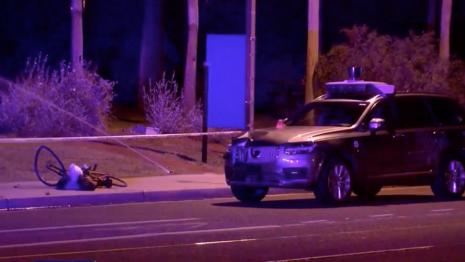 Uber vozilo bez vozača odgovorno za smrt osobe u Arizoni