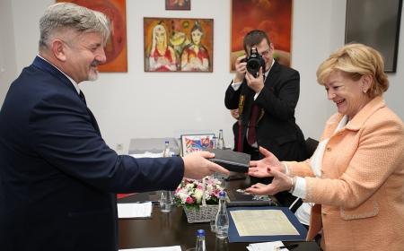 Ministarka kulture Slovačke Republike posetila Arhiv Vojvodine
