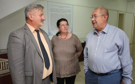 Иштван Пастор у посети Архиву Војводине