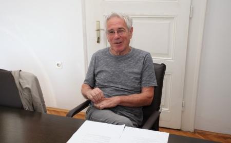 Филмски редитељ Желимир Жилник у посети Архиву Војводине