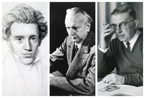 Esej o egzistenciji: Kjerkegor, Jaspers, Sartr