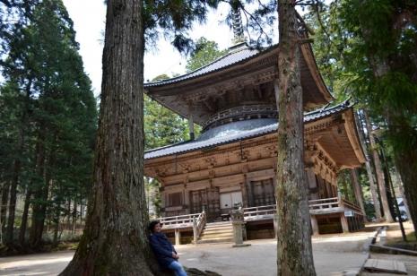 Ivana Dukcevic, Japan, planina Koyasan -drevni hramovi