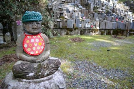 Ivana Dukcevic, Japan, planina Koyasan -groblje Okunoin, đizo statua...