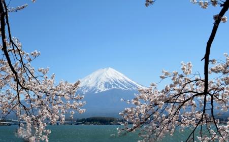 Veličanstvena planina Fuđi