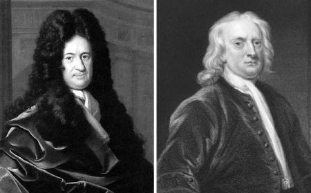 Лајбниц и Њутн