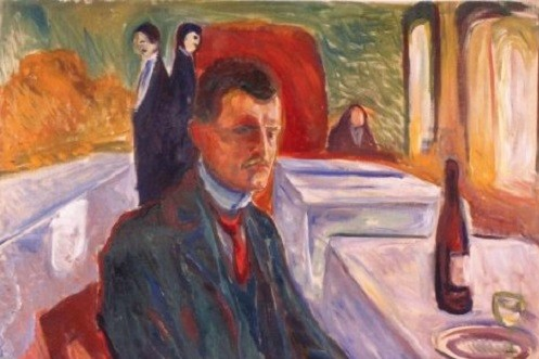 Edvard Munk, portreti i autoportreti