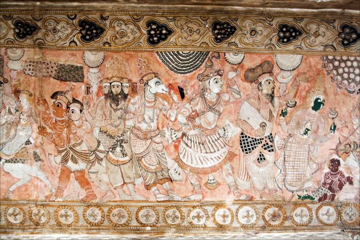 Храм Вирабхадра, село Лепакши, Индија